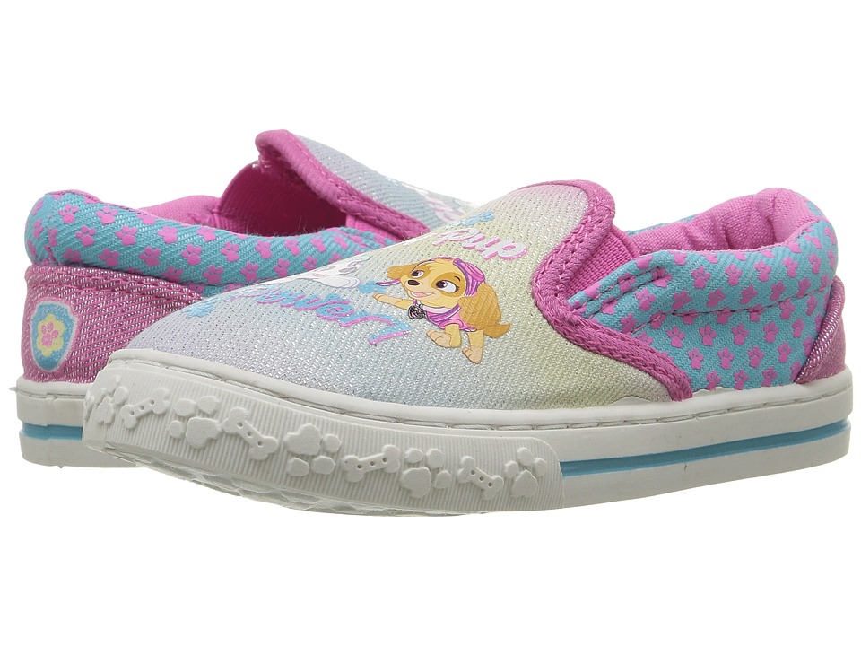 Josmo Kids Paw Patrol Canvas Sneaker (Toddler/Little Kid) (Multi) Girl's Shoes