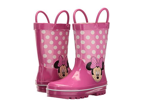Josmo Kids Minnie Rain Boot (Toddler/Little Kid) - Fuschia