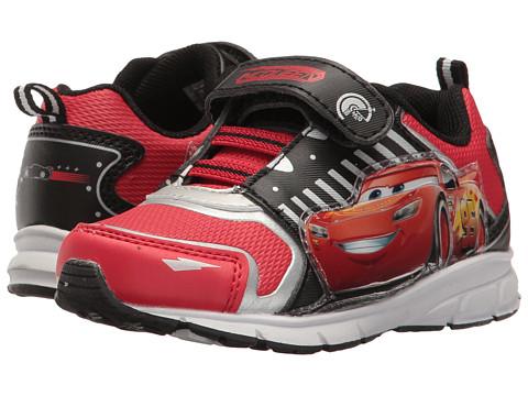 Josmo Kids Cars Lighted Sneaker (Toddler/Little Kid) - Black/Red