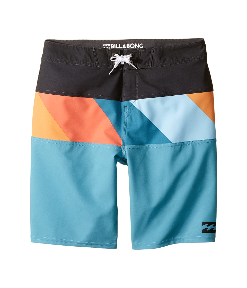 Billabong Kids Tribong X Boardshorts (Big Kids) (Coastal) Boy