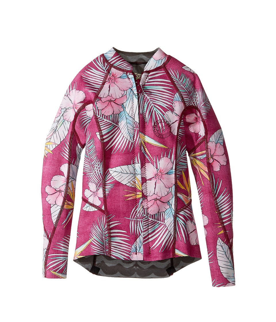 Billabong Kids Peeky Jacket (Big Kids) (Sangria) Girl