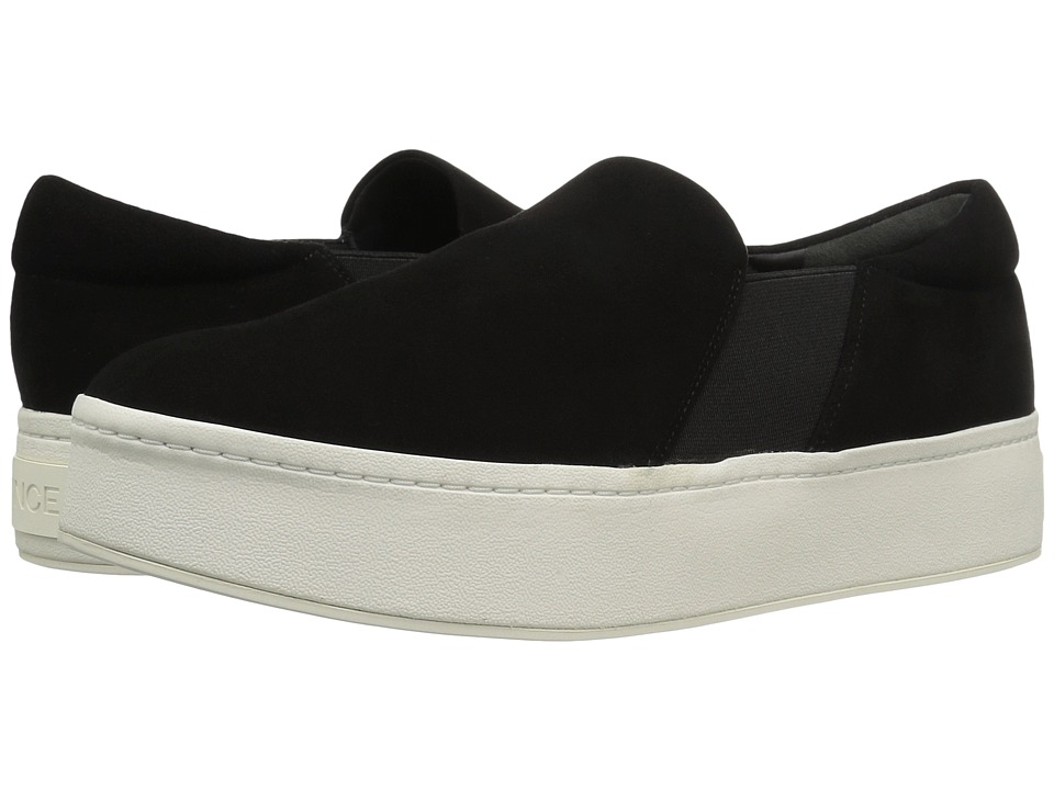 Vince Warren (Black Suede) Women's Shoes