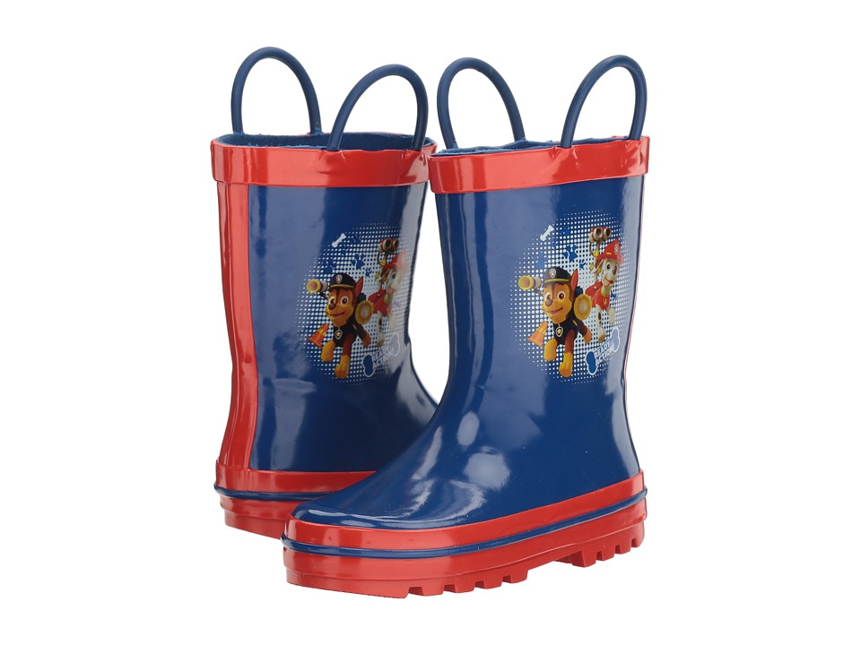 Josmo Kids Paw Patrol Rain Boot (Toddler/Little Kid) (Blue/Red) Boys Shoes