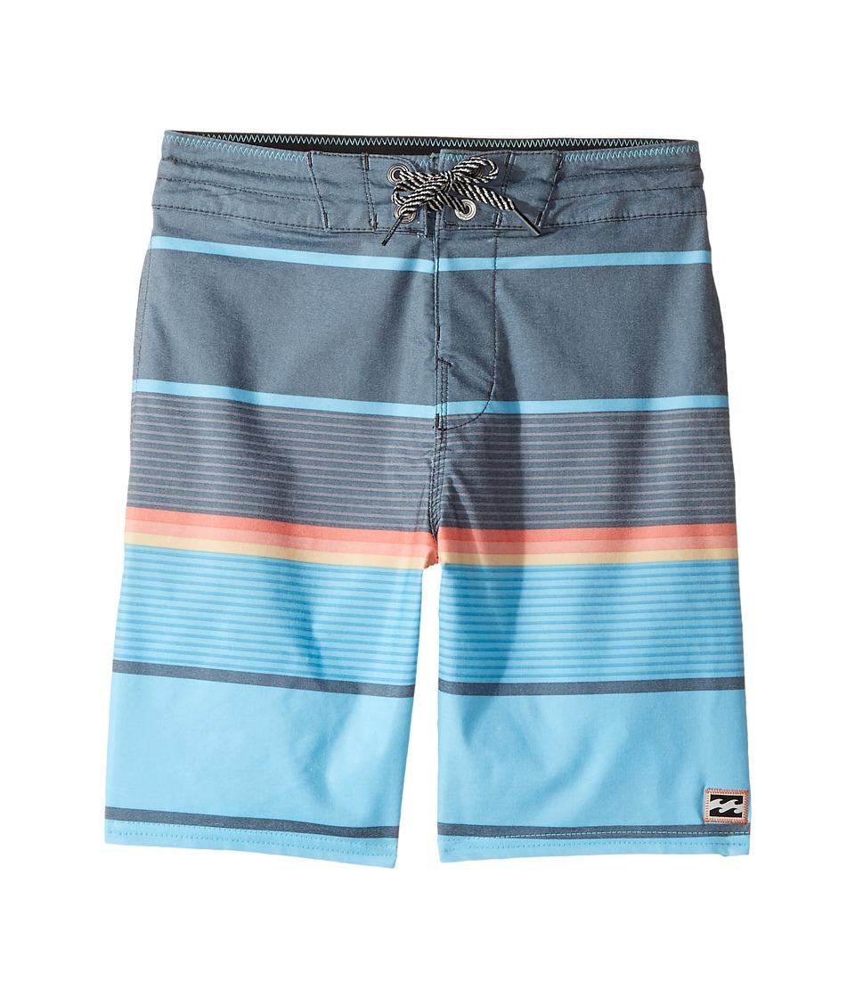 Billabong Kids Spinner LT Boardshorts (Big Kids) (Blue) Boy