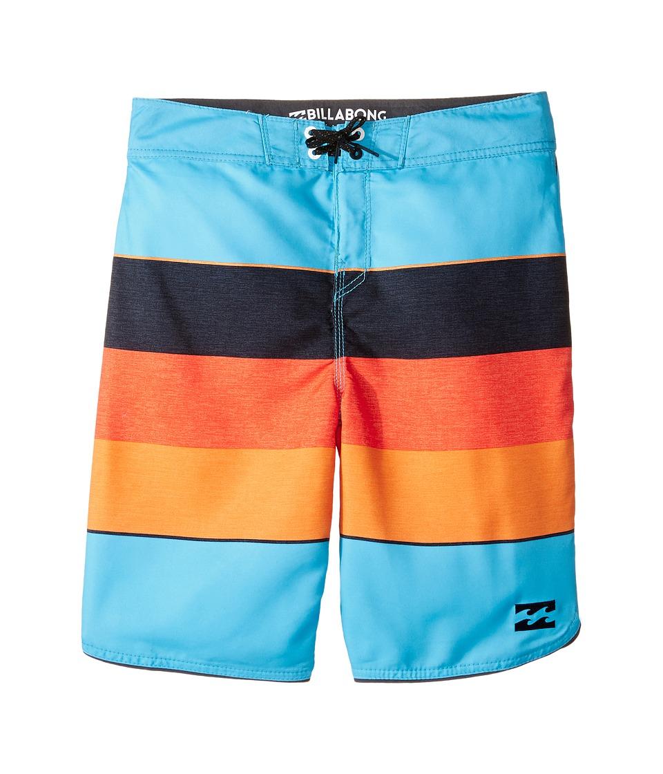 Billabong Kids 73 OG Stripe Boardshorts (Big Kids) (Coastal) Boy