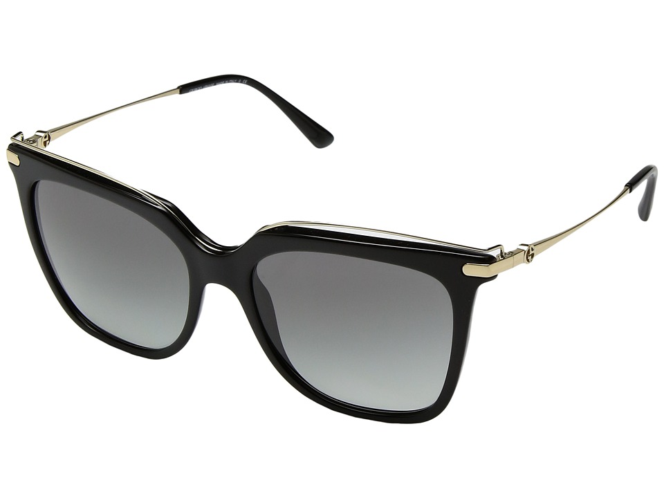 Giorgio Armani - 0AR8091 (Black/Grey Gradient) Fashion Sunglasses