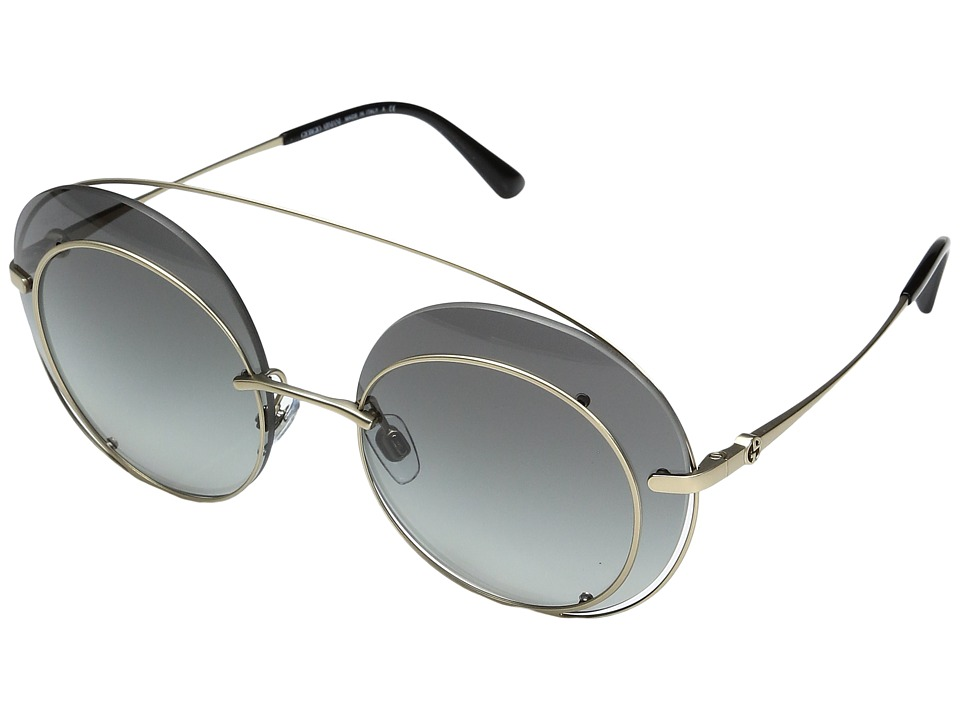 Giorgio Armani - 0AR6043 (Bronze/Violet Gradient) Fashion Sunglasses