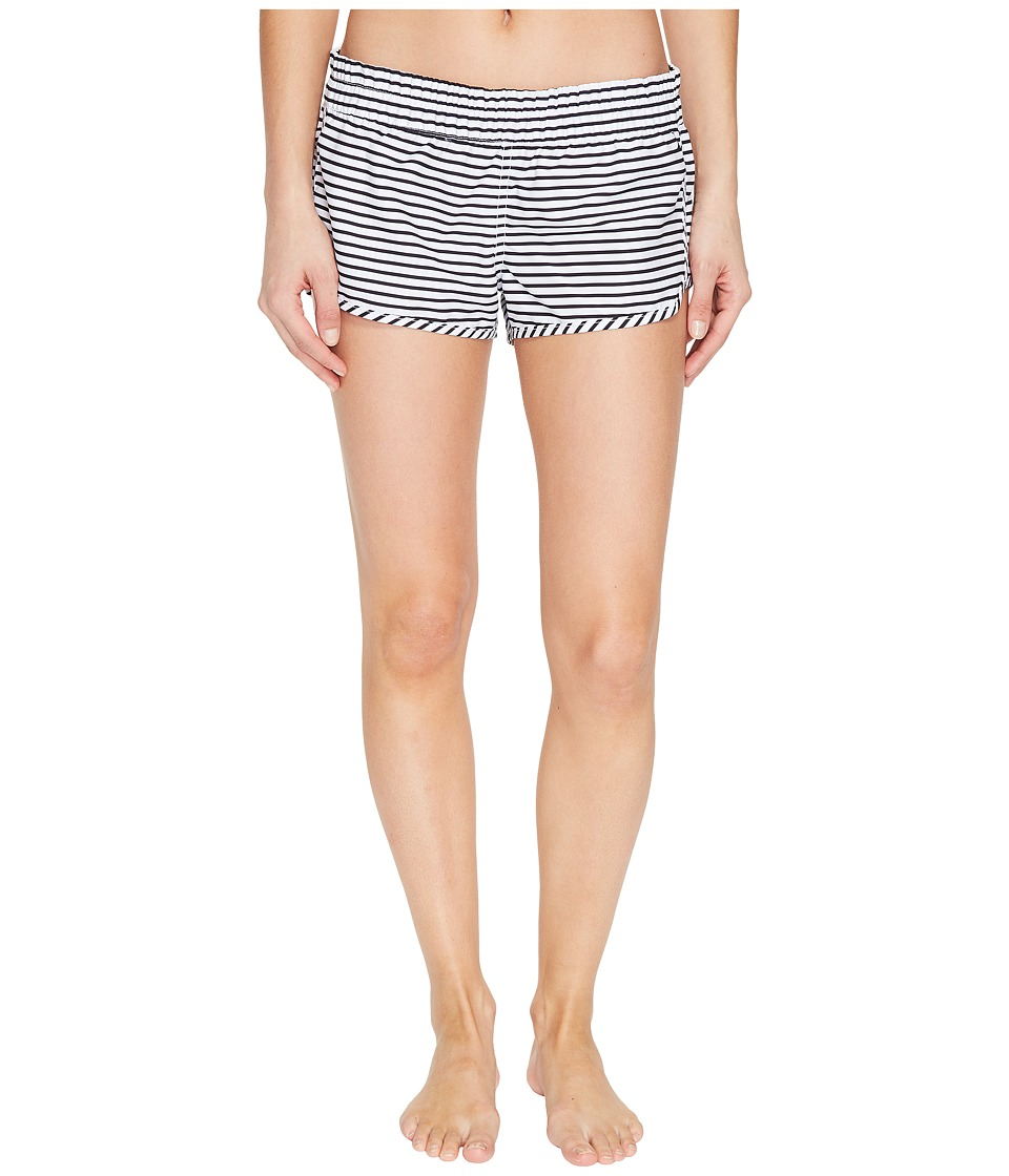 Hurley Supersuede Stripe Beachrider Bottoms (White) Women