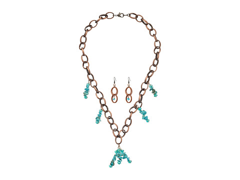 Kender West 094-ST - Copper/Turquoise