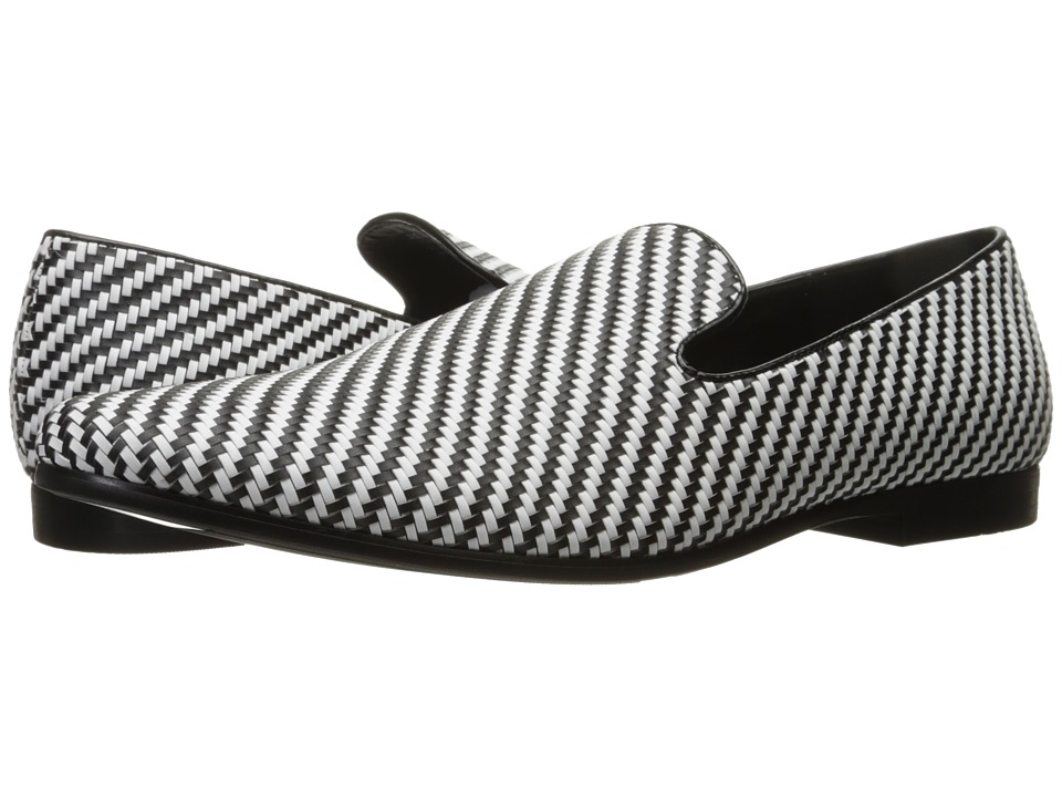 Giorgio Brutini Cimron (White/Black) Men