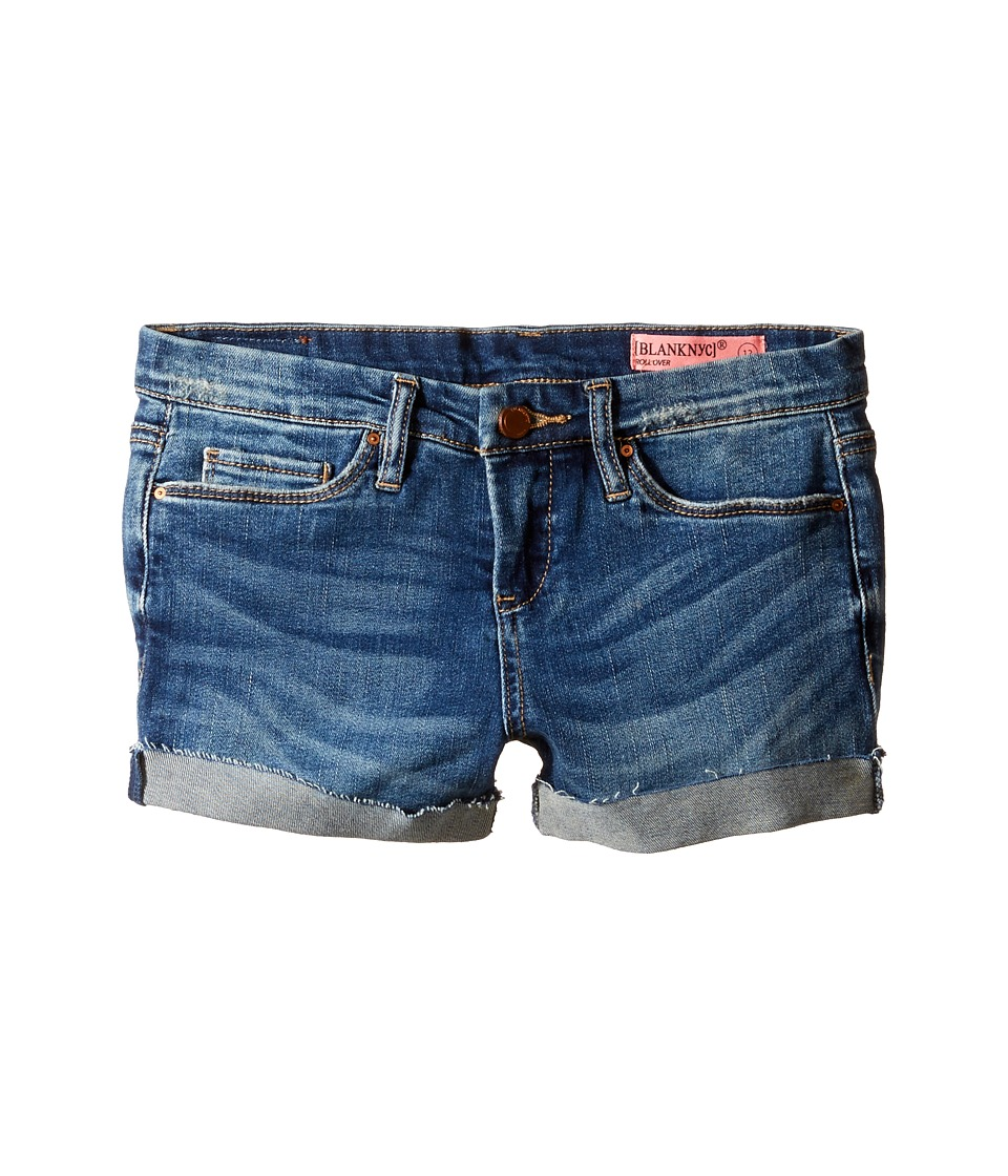 Blank NYC Kids - Denim Distressed Cuffed Shorts in Dress Down Party
