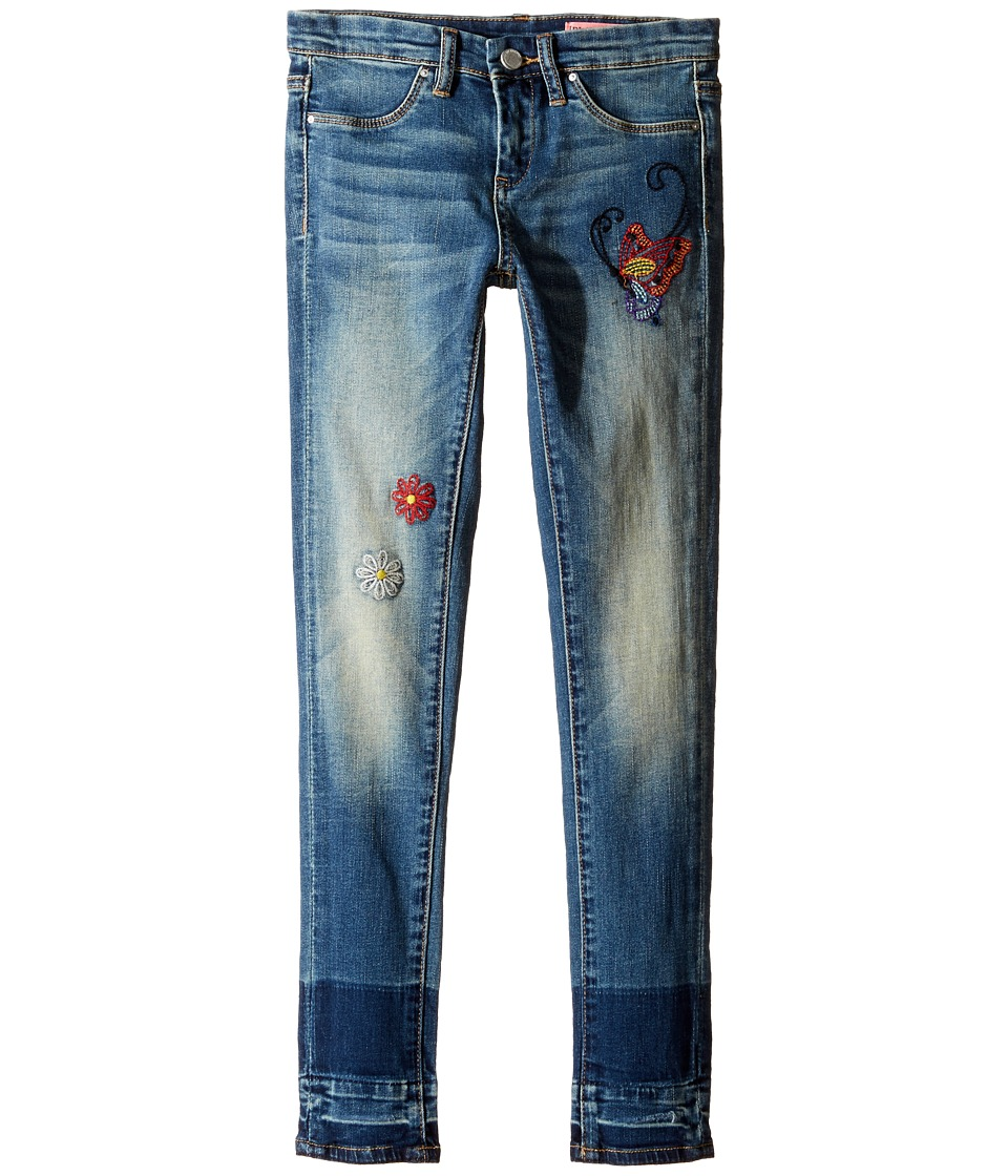 Blank NYC Kids Denim Embroidered Skinny in Dizzy Spell (Big Kids) (Dizzy Spell) Girl