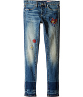 Blank NYC Kids - Denim Embroidered Skinny in Dizzy Spell (Big Kids)
