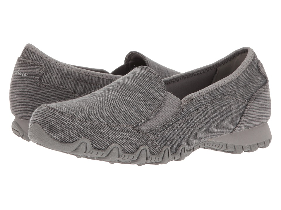 SKECHERS Bikers Lounger (Charcoal) Women
