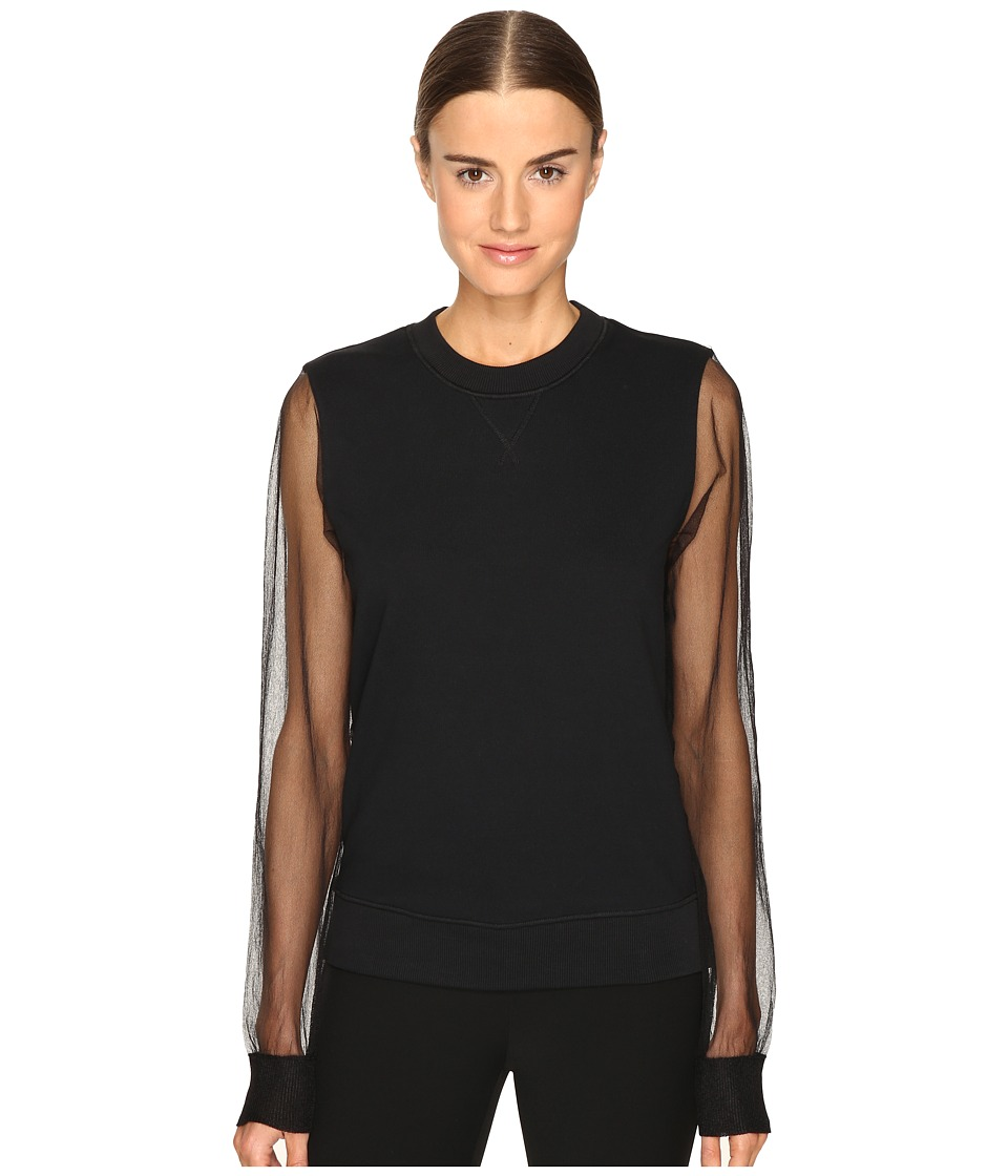 Sportmax Sportmax - Tullia Sheer Sleeve Top