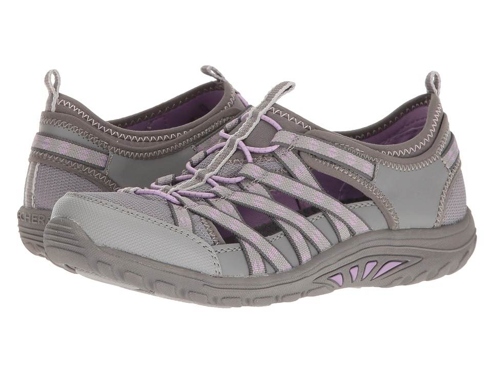 Skechers Reggae Fest - Dory (Charcoal) Women's Shoes