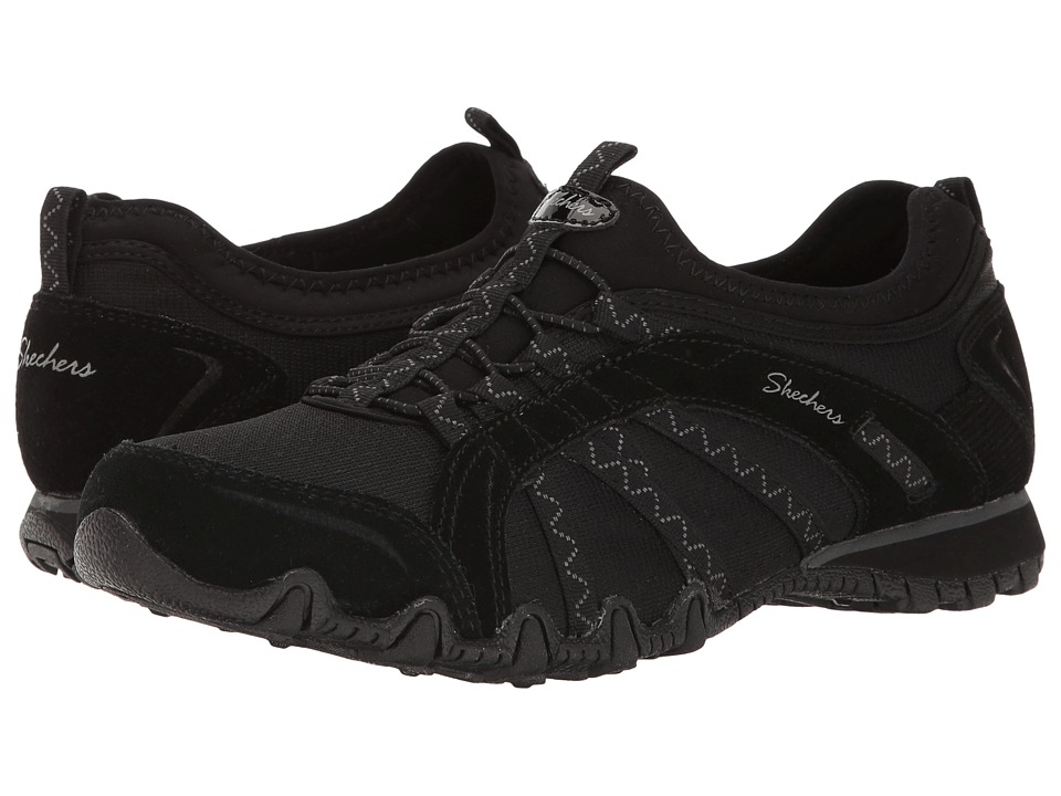 SKECHERS Bikers Hermosa (Black) Women