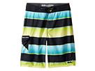 Billabong Kids - All Day OG Stripe Boardshorts (Big Kids)