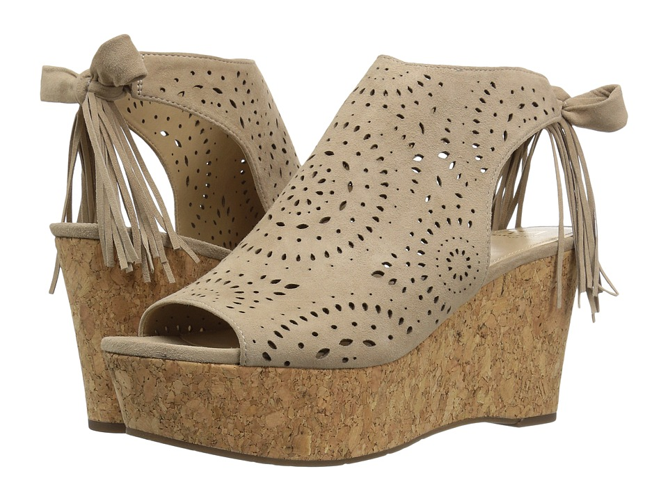 Marc Fisher LTD - Stacie (Sughero Kid Suede) Women's Wedge Shoes