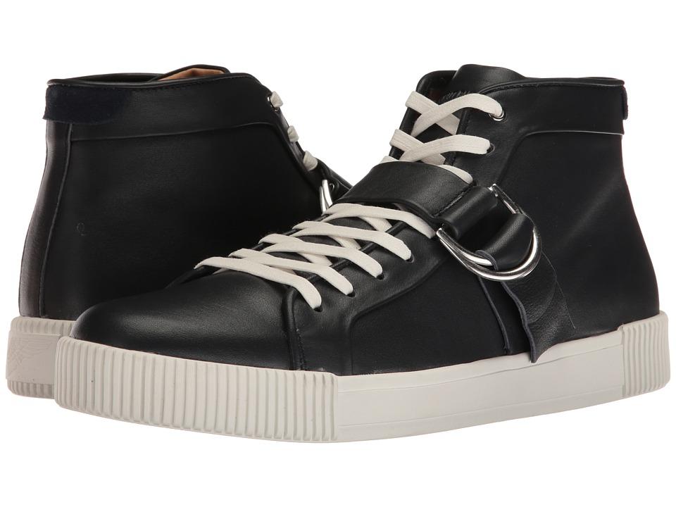 Michael Bastian Gray Label Lyons Hi Top Sneaker (Navy) Men