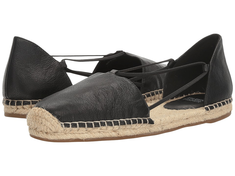 Eileen Fisher Lee (Black Tumbled Leather) Women