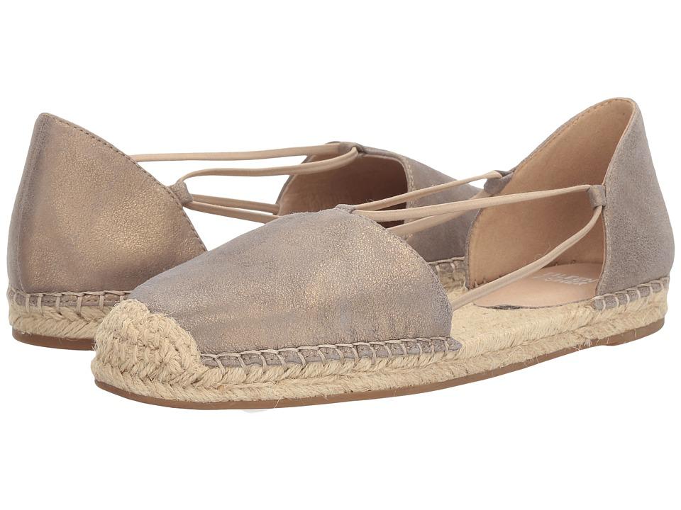 Eileen Fisher Lee (Platinum Metallic Suede) Women's Flat Shoes