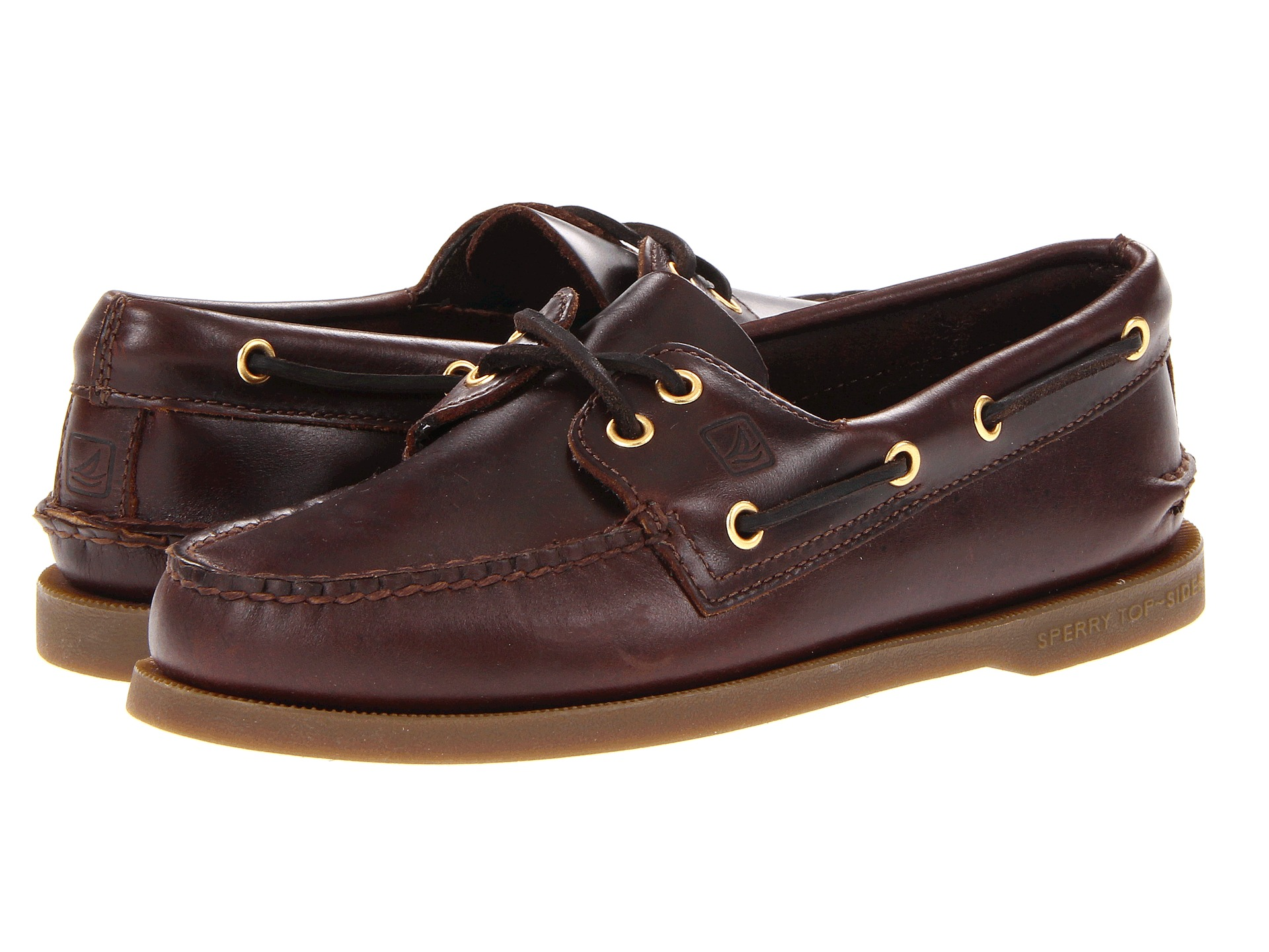Sperry Top Sider Authentic Original Boat Shoe Amaretto