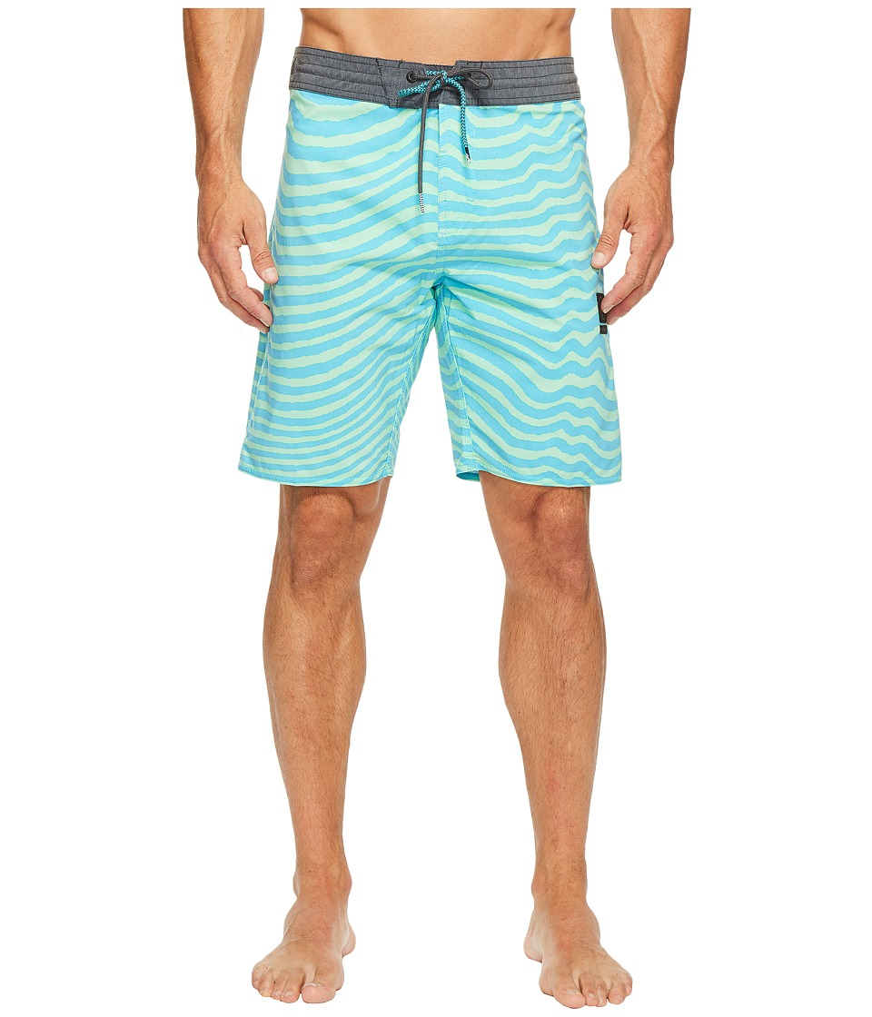 Volcom Mag Vibes Slinger 19 Boardshorts (Aqua) Men