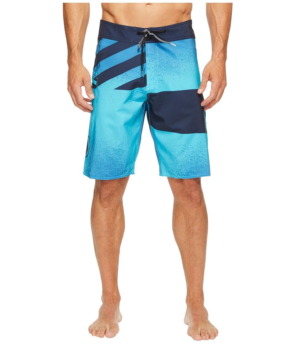 Volcom Lido Block Mod 21 Boardshorts (Aqua) Men