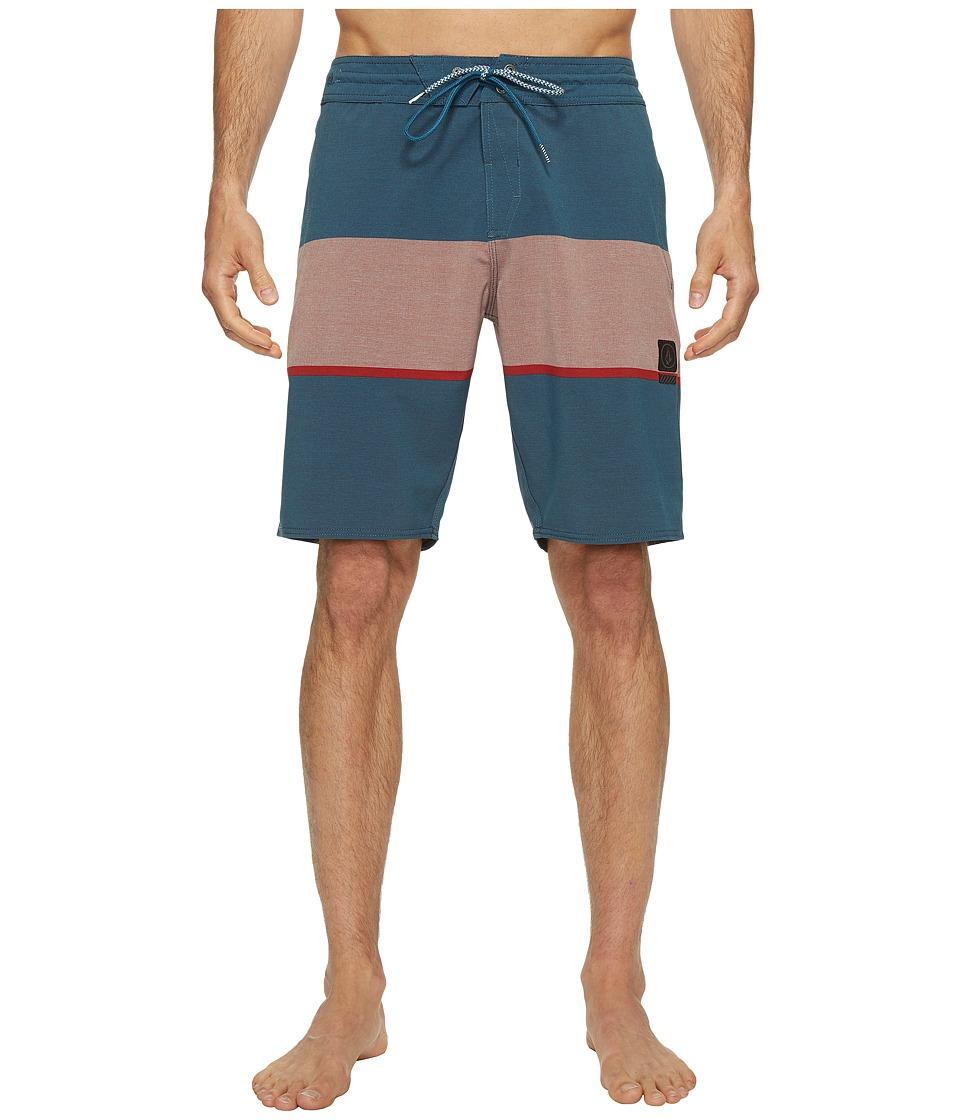Volcom Quarta Static Stoney 20 Boardshorts (Toffee) Men