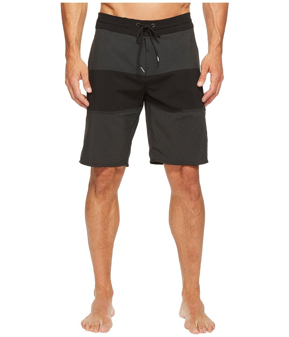 Volcom Quarta Static Stoney 20 Boardshorts (Black) Men