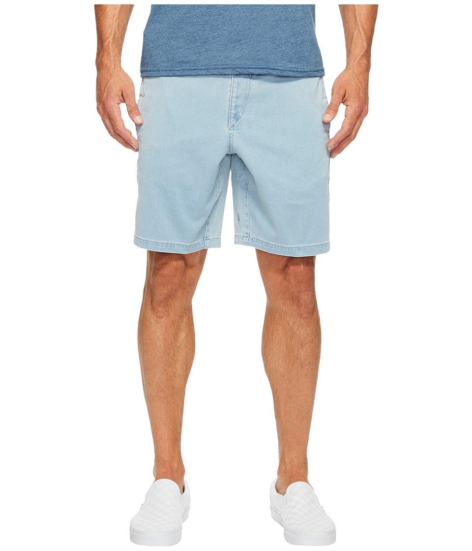Volcom Flare Shorts (Cloud Blue) Men