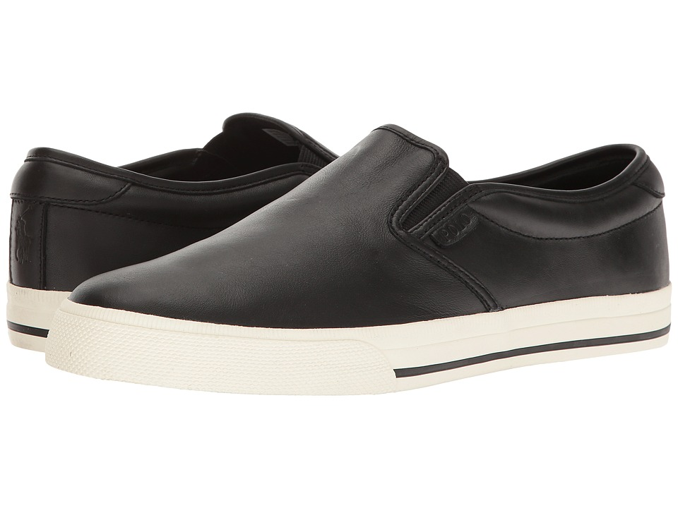 Polo Ralph Lauren Vaughn Slip-On (Black) Men