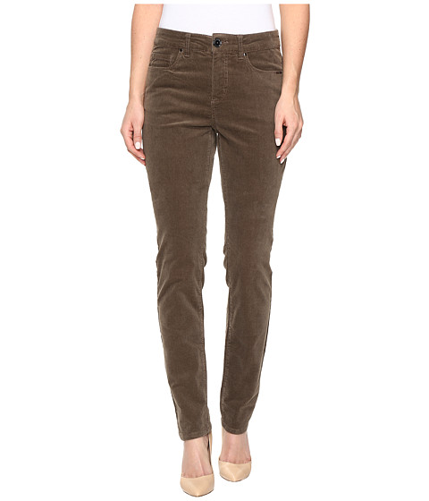 FDJ French Dressing Jeans Olivia Slim Leg Plush Cord in Taupe