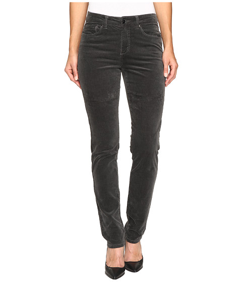FDJ French Dressing Jeans Olivia Slim Leg Plush Cord in Slate - Slate