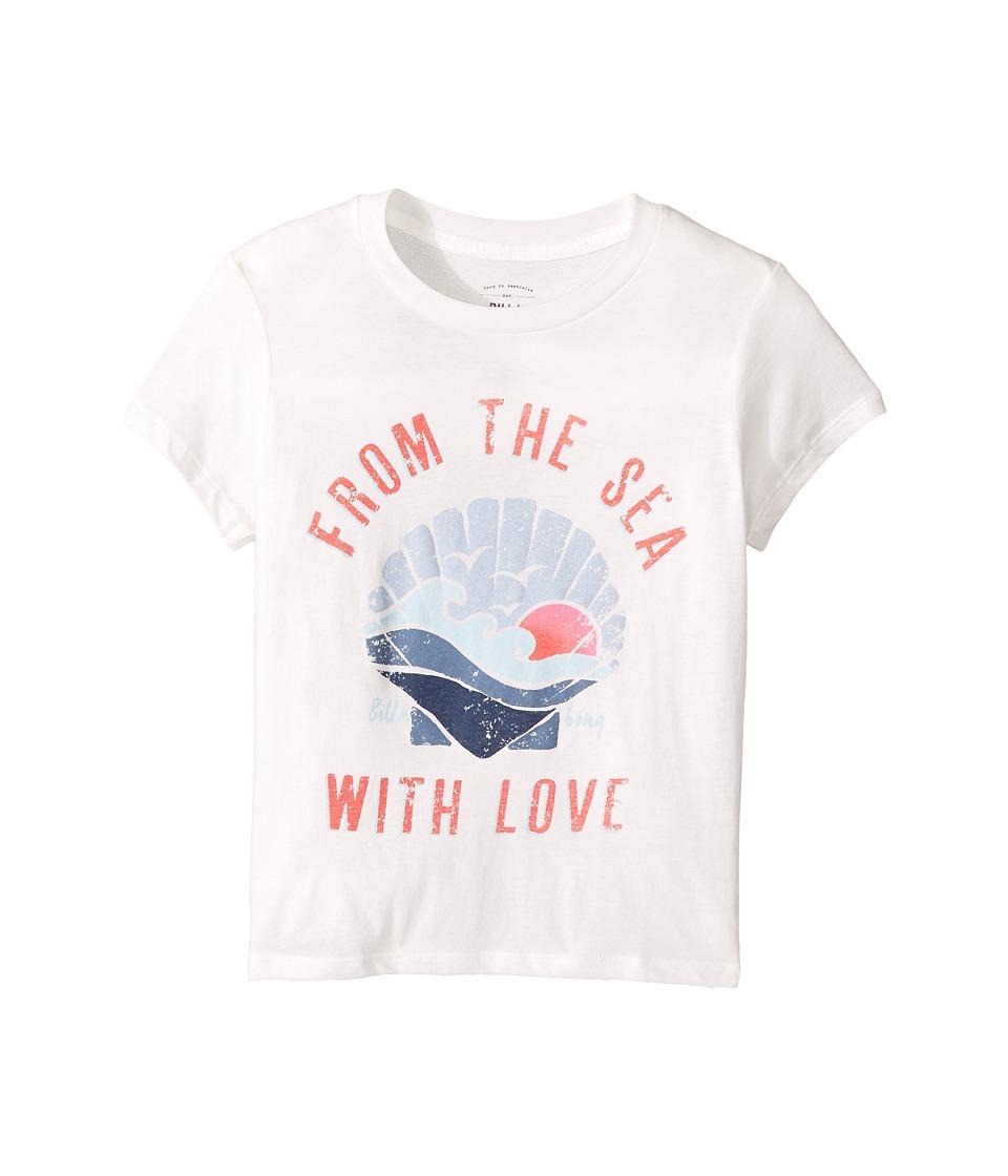 Billabong Kids From the Sea Tee (Little Kids/Big Kids) (Cool Wip) Girl