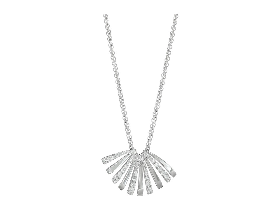 Miseno Miseno - Ventaglio White Gold Medium Pendant with Diamonds