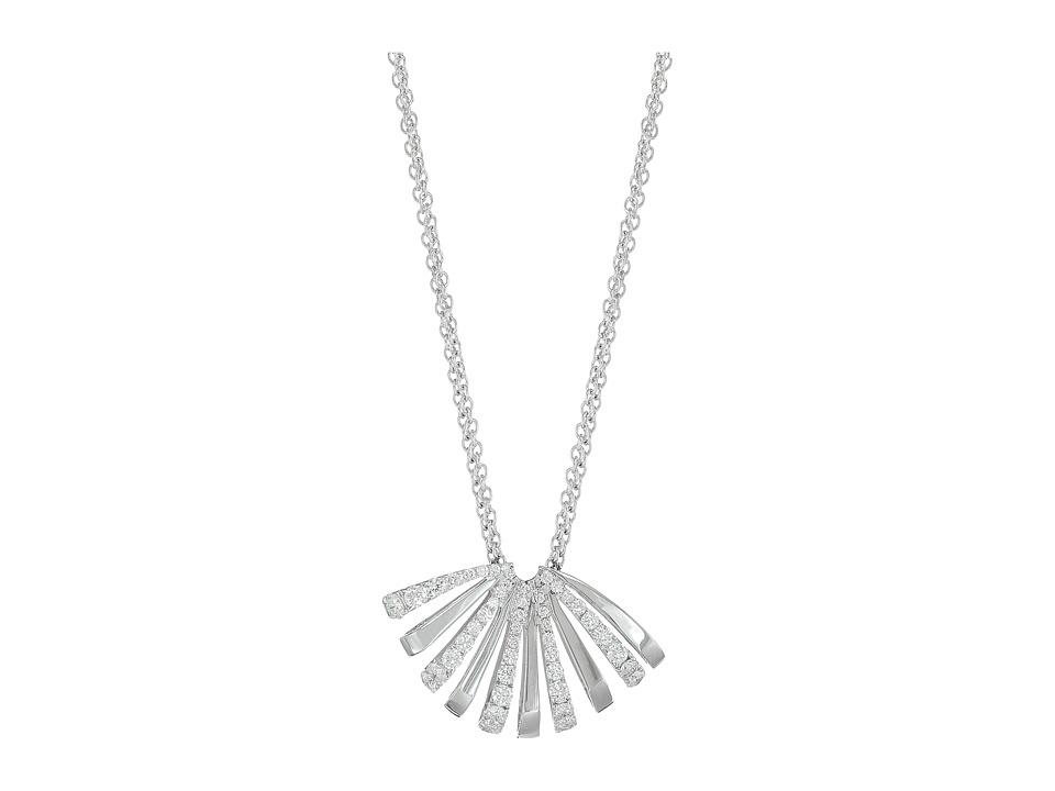 Miseno - Ventaglio White Gold Medium Pendant with Diamonds