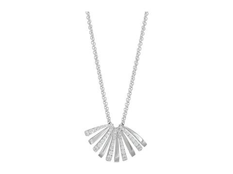 Miseno Ventaglio White Gold Medium Pendant with Diamonds - White Gold