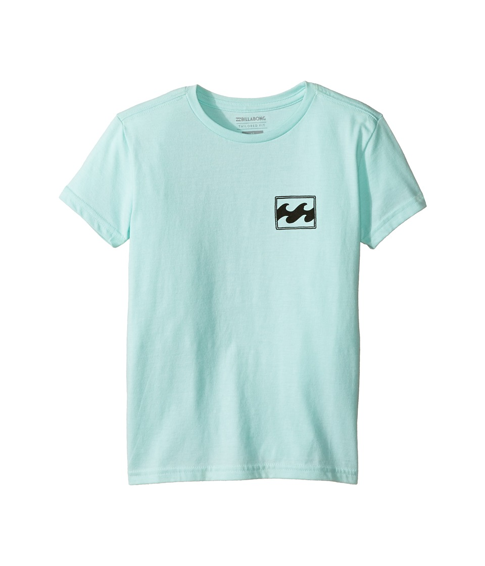 Billabong Kids Adrift T-Shirt (Toddler/Little Kids) (Ice Heather) Boy