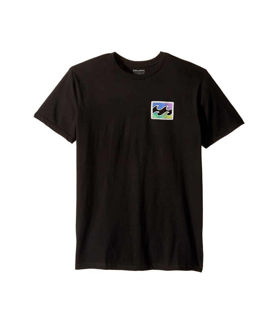 Billabong Kids Adrift T-Shirt (Big Kids) (Black) Boy