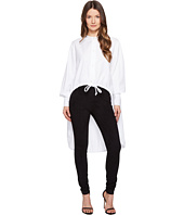 Sportmax - Ricetta Runway High-Low Button Up Top