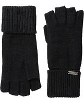 Steve Madden - Boyfriend Half Finger Gloves