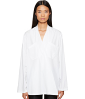 Sportmax - Sangria Runway Crossover Long Sleeve Top