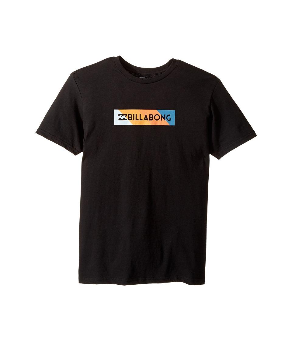 Billabong Kids Unity Block T-Shirt (Big Kids) (Black) Boy