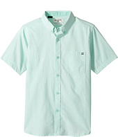 Billabong Kids - All Day Chambray Short Sleeve Shirt (Big Kids)