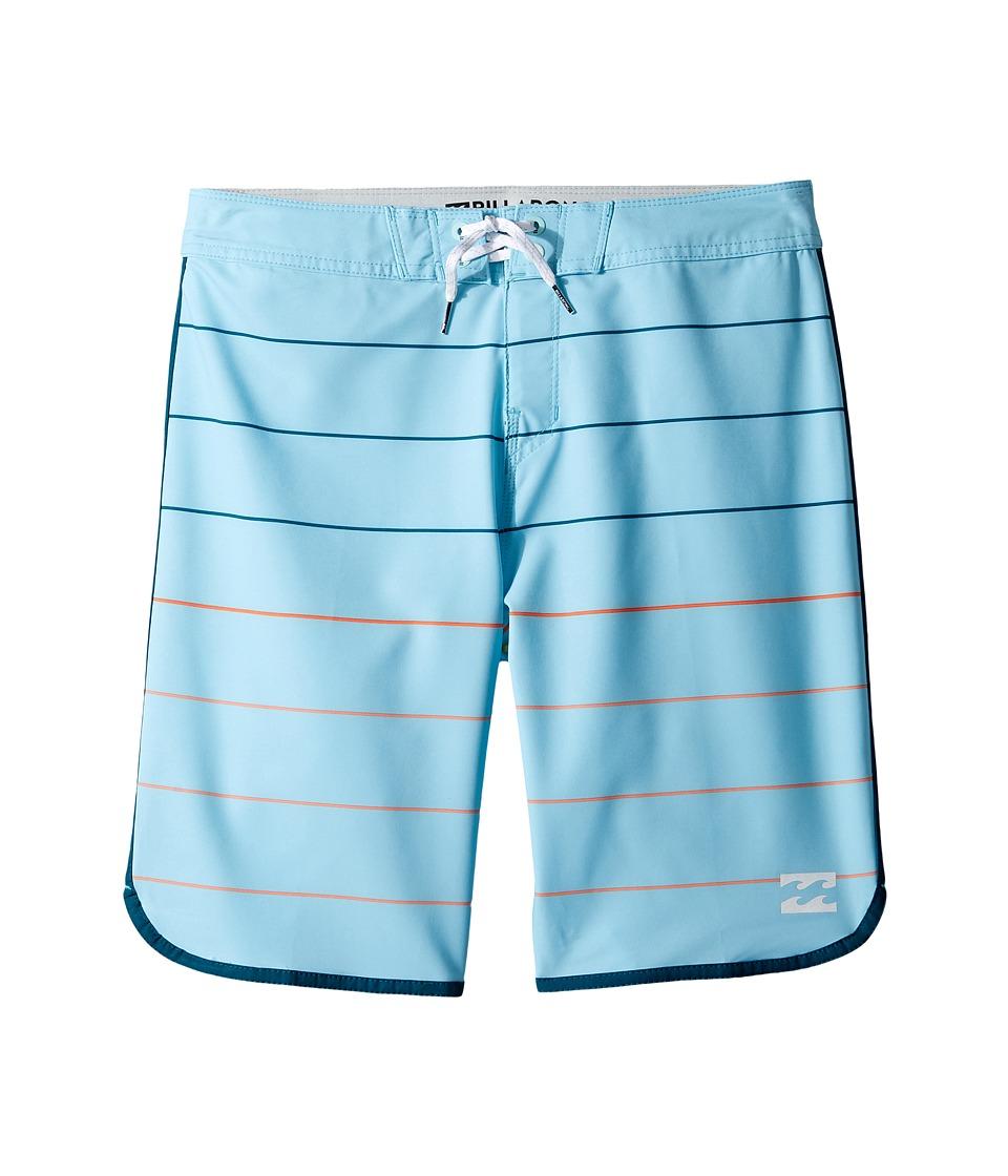 Billabong Kids 73 X Stripe (Big Kids) (Blue) Boy