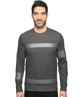 Calvin Klein - Solid Ponte Printed Pullover