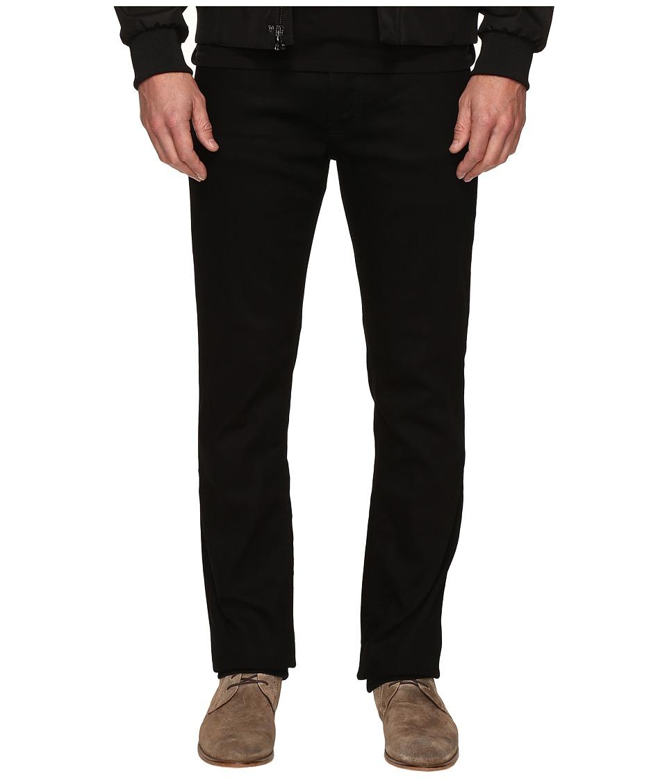 Calvin Klein Jeans Slim Straight Jeans in Clean Black Wash (Black) Men