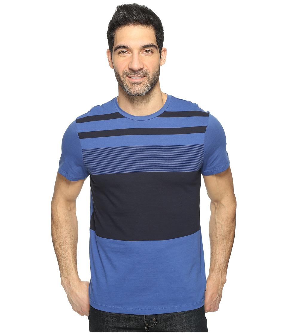 Calvin Klein Pima Cotton Stripe Tee (Loyalty) Men